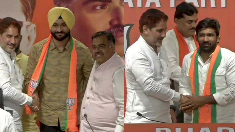 अंतरराष्ट्रीय पहलवान योगेश्वर दत्त और पूर्व हॉकी कप्तान संदीप सिंह बीजेपी में शामिल, इस सीट से लड़ सकते हैं विधानसभा चुनाव