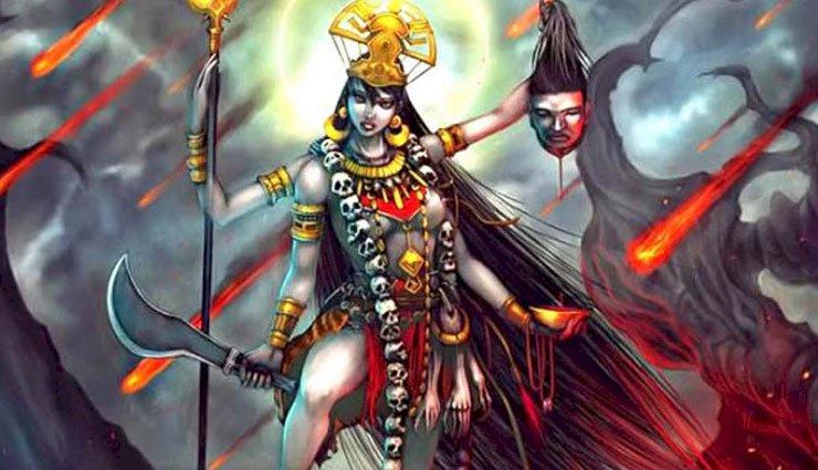 साधकों को शत्रुभय, अग्निभय, भूत-प्रेत बाधा एवंअकाल मृत्यु से मुक्ति प्रदान करती हैं माँकालरात्रि