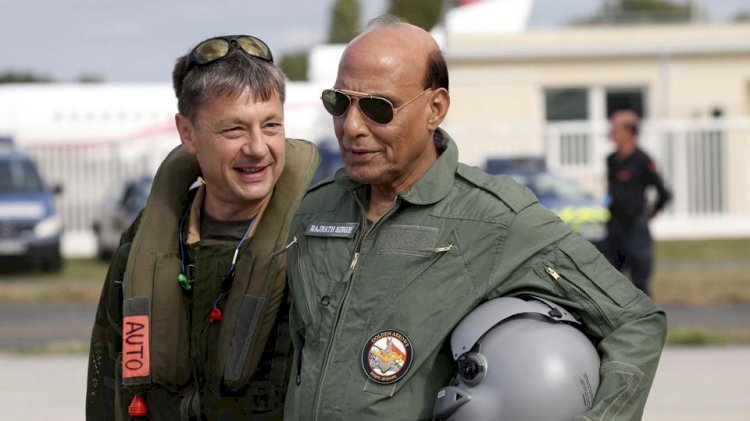 रक्षा वार्ता से प्रगाढ़ होंगे भारत-फ्रांस के बीच रणनीतिक संबंध-राजनाथ सिंह